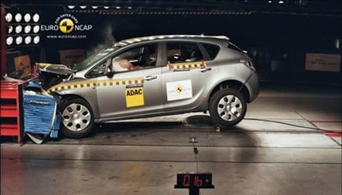 EuroNCAP Opel Astra