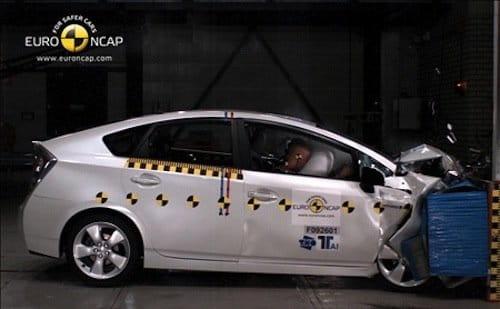 EuroNCAP Toyota Prius