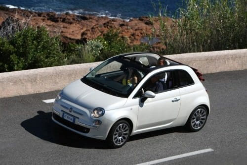 Fiat 500C, Coche Gay del Año 2010