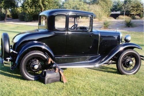 A subasta el Ford Model A de John Dillinger
