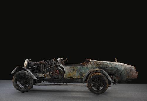 Lady of the Lake, el Bugatti rescatado de un lago suizo