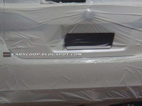 Fotografías espía del Lexus LF-Ch de producción