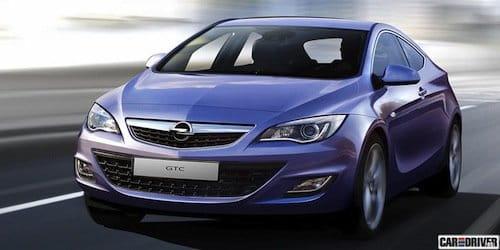 Opel Astra GTC 2010, recreación