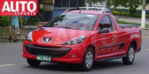 El Peugeot 207 Pick-up está a punto de caramelo