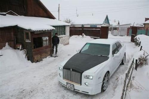 El Rolls-Royce ruso, construido sobre un Mercedes artesanalmente