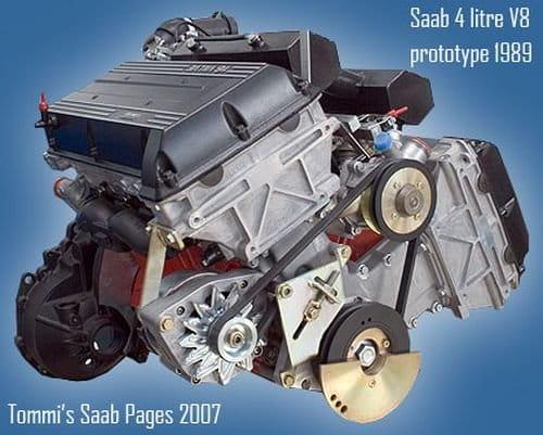 Saab 9000 V8, una rareza muy funcional