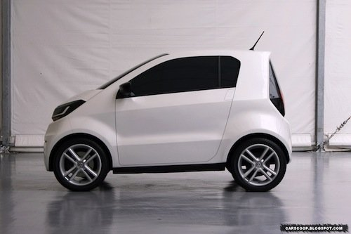 Volkswagen In Micro Car Concept