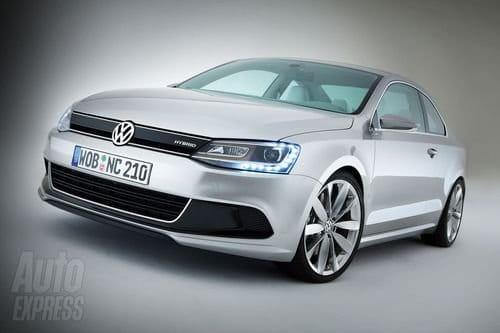 Volkswagen Golf Hybrid Coupe, desvelado el New Compact Coupe