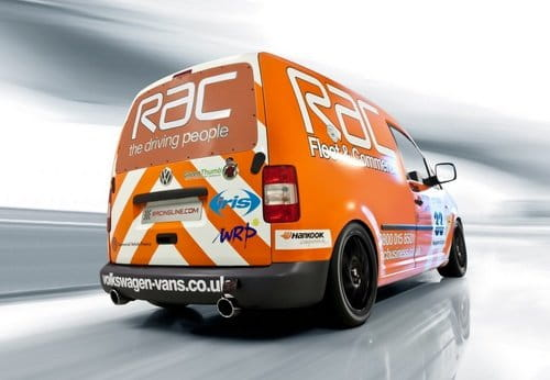 VW Caddy TDI Cup Racer