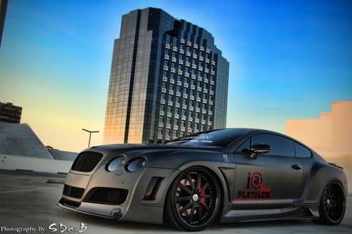 Bentley Continental GT por Platinum Motorsport