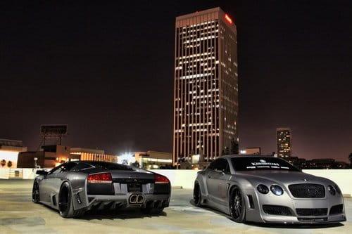 Bentley Continental GT y Lamborghini Murcielago por Platinum Motorsport