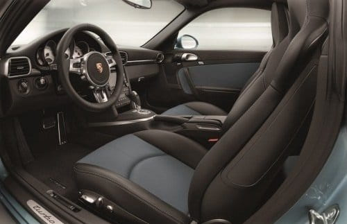 Porsche 911 Turbo S Coupé - Interior