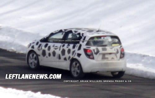 El nuevo Chevrolet Aveo pierde su camuflaje