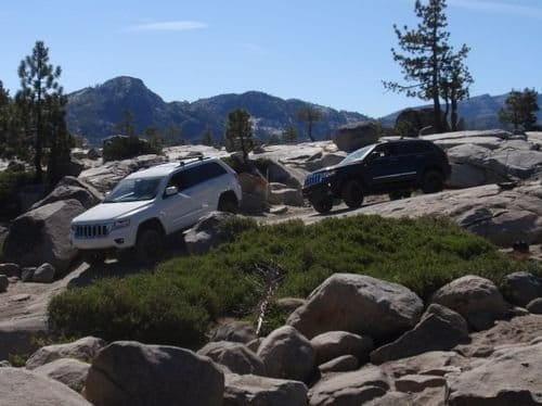 El nuevo Jeep Grand Cherokee pierde la virginidad