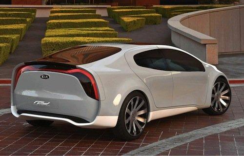 Kia Ray Concept, berlina híbrida