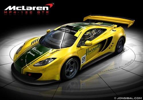 Imaginando los McLaren MP4-12C GTR