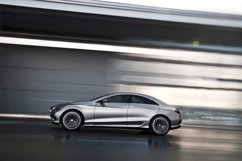 Mercedes F800 Style, imágenes filtradas del prototipo del CLS