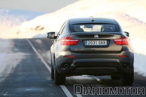 Gama BMW X6: nuevo xDrive40d y caja automática de ocho relaciones