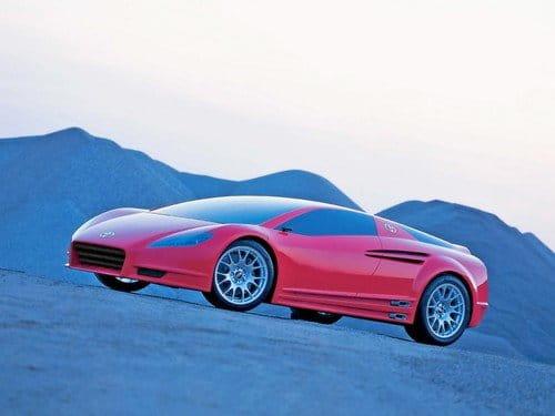 Toyota Alessandro Volta, un superdeportivo híbrido de 2004
