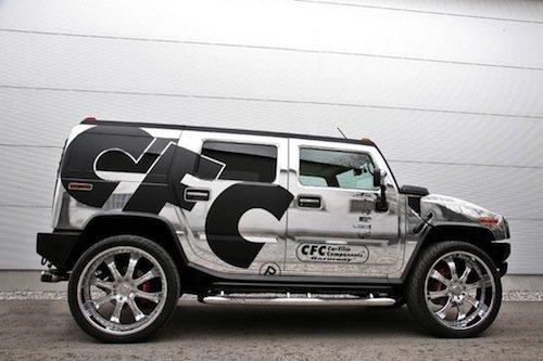 CFC Car Film Corporation Hummer H2