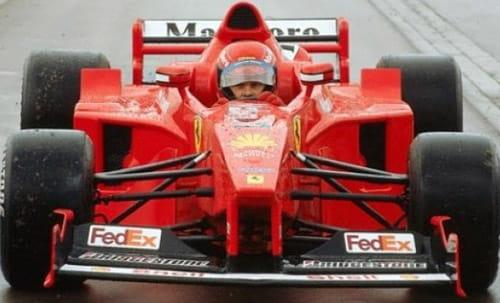 La aficion por Ferrari como delito