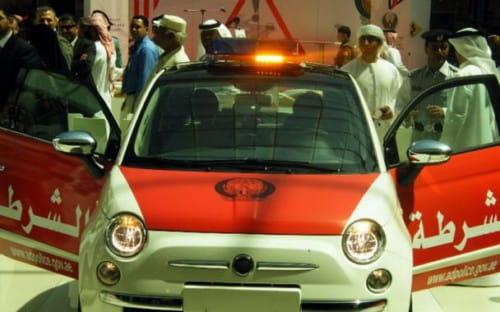 Fiat 500 para la Policía de Abu Dhabi