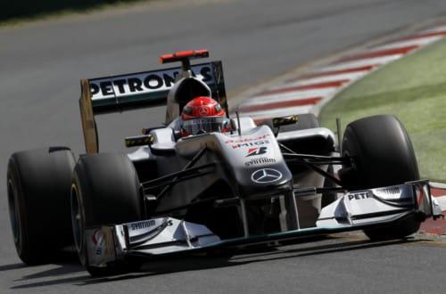 Michael Schumacher (Mercedes GP) - GP Australia 2010