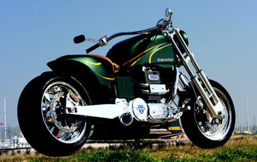 Motocicleta Neander Turbo Diesel