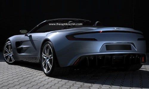 Así podría ser el Aston Martin One-77 Volante