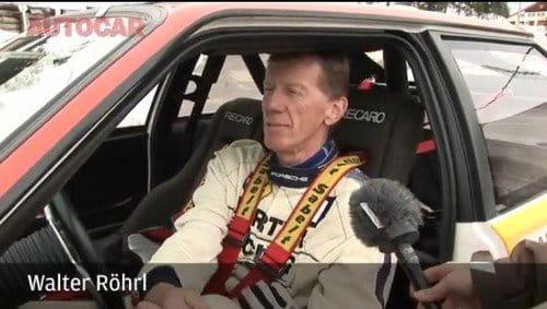Walter Röhrl vuelve al Col de Turini con su Audi Quattro