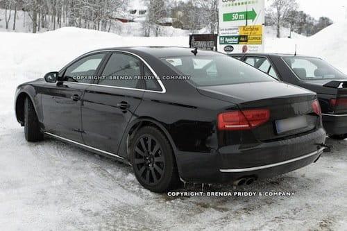 Fotos espía del próximo Audi S8,