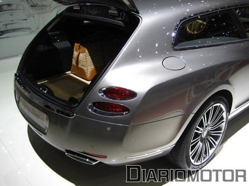 Bentley Continental Flying Star, un shooting brake en Ginebra