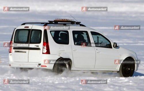 Fotos espía y recreación del Dacia monovolumen