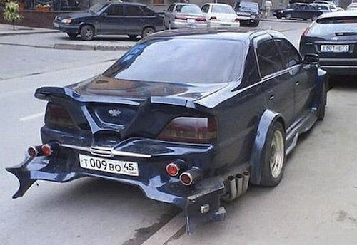 Tuning ruso, originalidad low costt