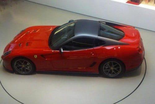 Ferrari 599 GTO, primeras imágenes reales