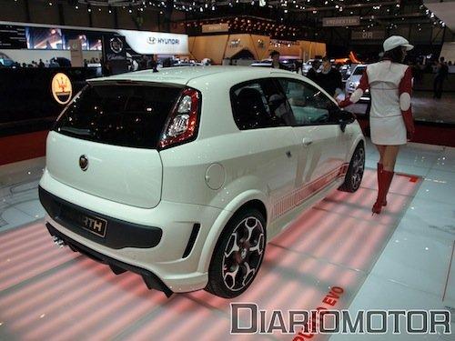 Fiat Punto Evo Abarth en Ginebra