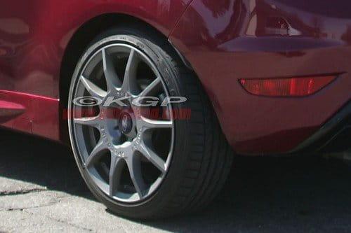 Fotos espía del Ford Fiesta ST