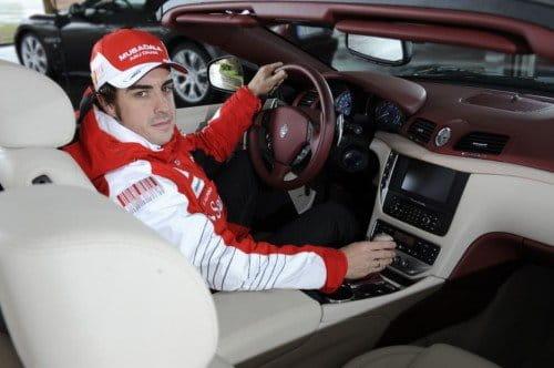 El nuevo Maserati GranCabrio de Fernando Alonso