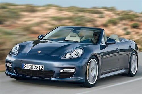 Supuestas patentes del Porsche Panamera Cabrio