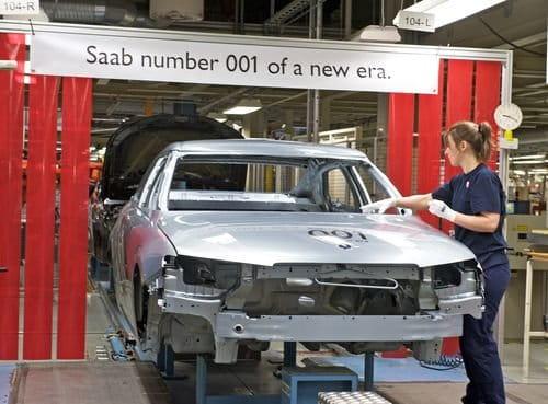 La fábrica de Saab en Trollhättan vuelve a funcionar