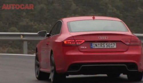 Audi RS5 (Prueba de Autocar)