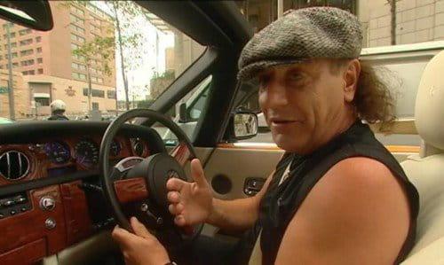 Un paseo por Sidney con Brian Johnson en un Rolls Royce Phantom Drophead Coupe