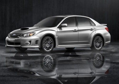 Subaru Impreza WRX Sedan 2011