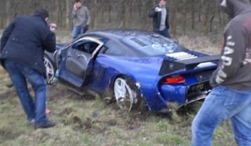 Una de accidentes caros, Pagani C9 y 9ff GT9-R