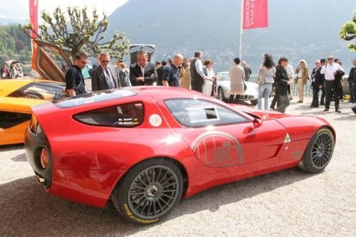 Alfa Romeo Zagato TZ3 Corsa, esencia italiana