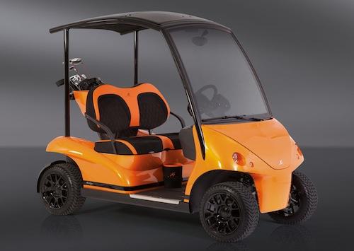 El carrito de golf más caro del mundo: Garia Edition Soleil de Minuit