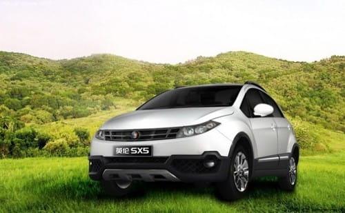 Geely SC5, continúa la inspiración en China