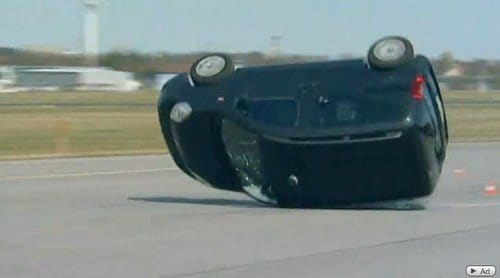 El Citroën Nemo falla estrepitosamente el test del alce