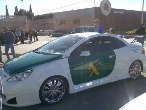 Peugeot 307 CC Guardia Misil