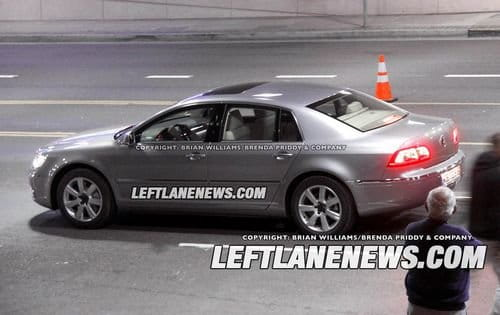 Volkswagen Phaeton, la segunda generación al desnudo